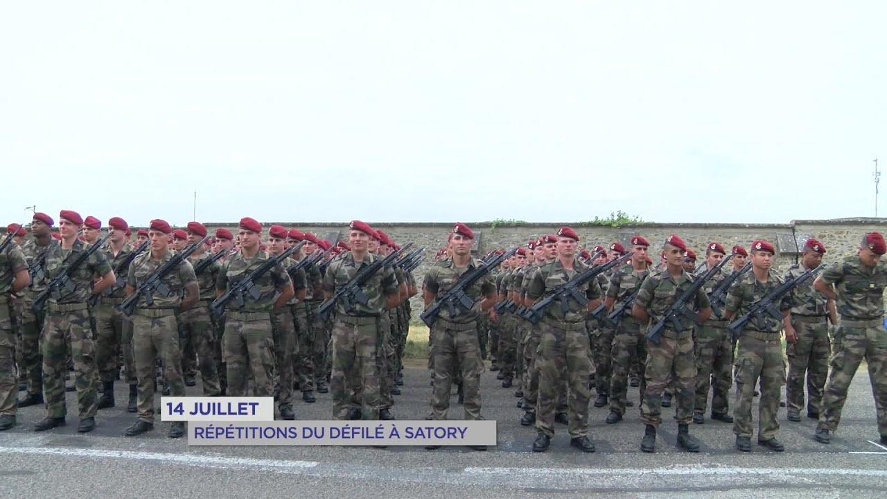 Yvelines | 14 juillet : répétitions du défilé à Satory