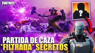 SKIN *FILTRATED* HUNTING PARTY ? NEW SECRET CALAMITY *CUBE THEORIAS* FORTNITE BATTLE ROYALE