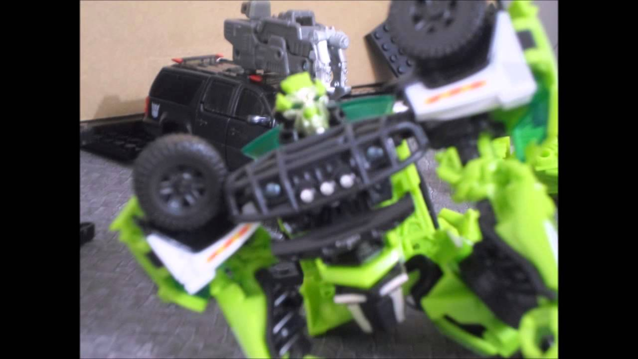 Transformers Age Of Extinction Stop Motion Lockdown Kills
