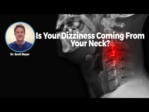 Is Your Dizziness Coming From Your Neck?
