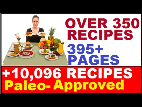 Paleo Recipes: Over 350 Healthy Food Recipes (Including Best Chicken Recipes) – Easy Cooking Recipes