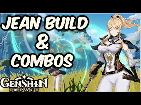 Jean Team Build Guide & Combos, Best Weapons, Artifacts & Best DPS Healer Genshin Impact