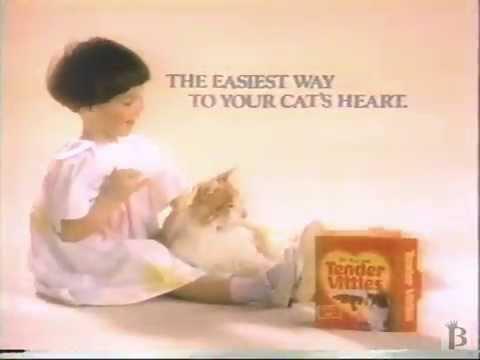 Tender Vittles Cat Treats Commercial 1988 Youtube