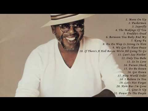 Curtis Mayfield's Greatest Hits Full Album - Best Songs Of Curtis Mayfield