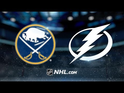 Buffalo Sabres vs Tampa Bay Lightning | Feb.21, 2019 | Game Highlights | NHL 2018/19 | Обзор матча