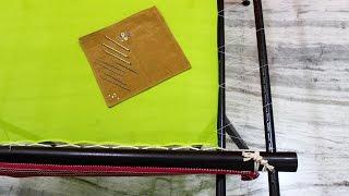 Attaching a Fabric to the Muggam Frame