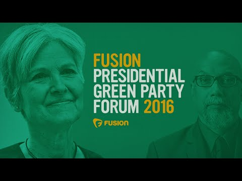 Fusion Green Party Forum with Jill Stein & Ajamu Baraka