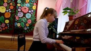 Превысокова Дарья, общее фортепиано, 3ий год обучения