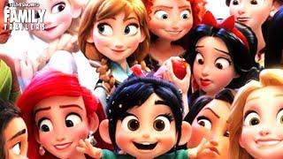 RALPH BREAKS THE INTERNET: WRECK IT RALPH 2 Disney Princesses vs Original Movies