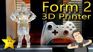 Reviewing Form Labs Form 2 SLA 3D Printer (Spoiler, it's amazing!)(, 2016-11-03T13:00:01.000Z)