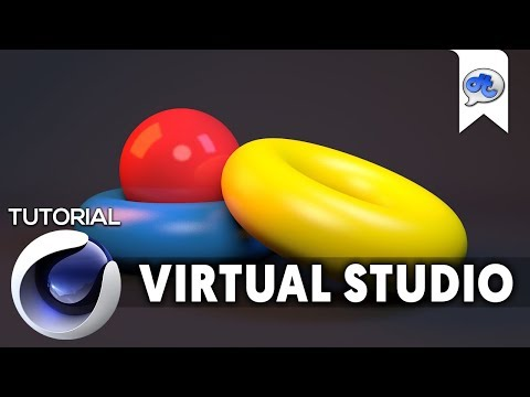Cinema 4D | TUTORIAL #3 : VIRTUAL STUDIO (Bahasa Indonesia)