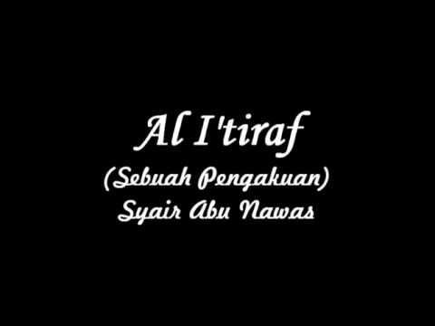 I'tirof hadad alwi