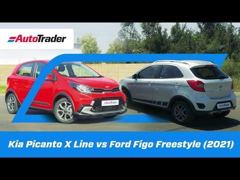 (2021) Kia Picanto X Line vs Ford Figo Freestyle