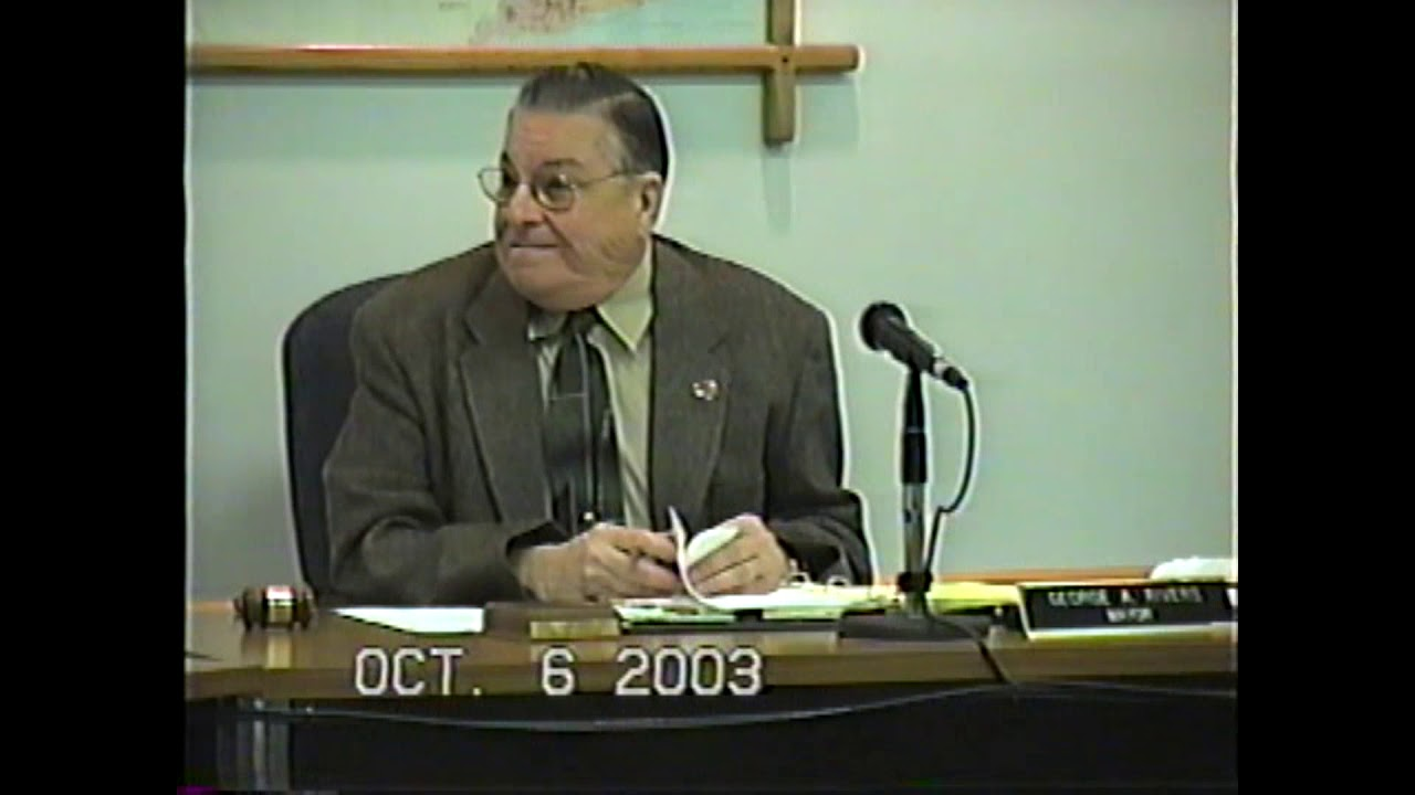 Rouses Point Village Board Meeting  10-6-03
