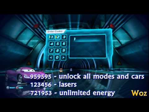 Cars 2 ~ Cheat Codes ~ Complete Guide