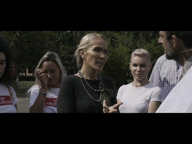 Ramona Ioana Bruynseels - Vizită Petroșani, Hunedoara,