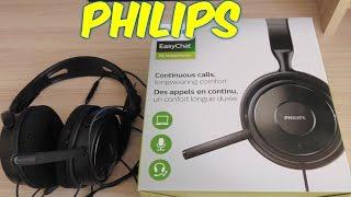 Навушники з мікрофоном для пк телефонів і планшетів Philips