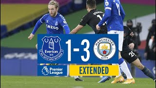 EXTENDED PREMIER LEAGUE HIGHLIGHTS | EVERTON 1 MANCHESTER CITY 3