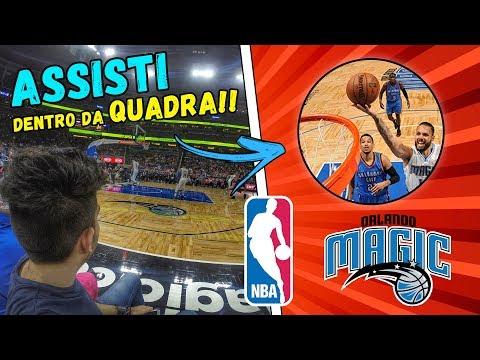 ENTREI NA QUADRA DO ORLANDO MAGIC!! NBA!