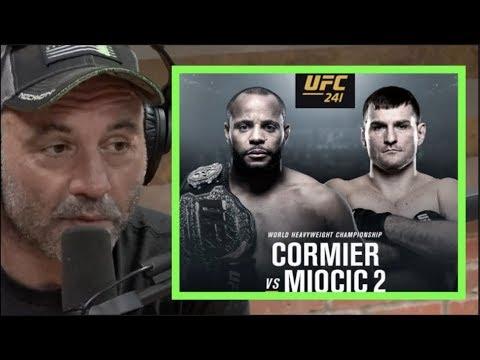 Joe Rogan previews UFC 241: Cormier vs  Miocic 2 (video) | MMAWeekly com