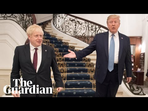 Timetable for US-UK trade deal is 'tight', says Boris Johnson
