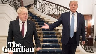 Donald Trump tells Boris Johnson at G7 he wants a 'very big' trade deal