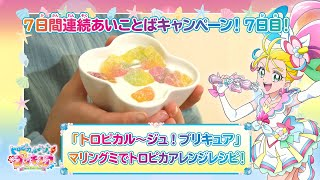 トロピカル~ジュ!プリキュア マリングミでトロピカアレンジレシピ!
