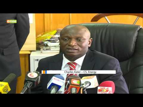 Charles Keter takes over as CS Ministry of Energy