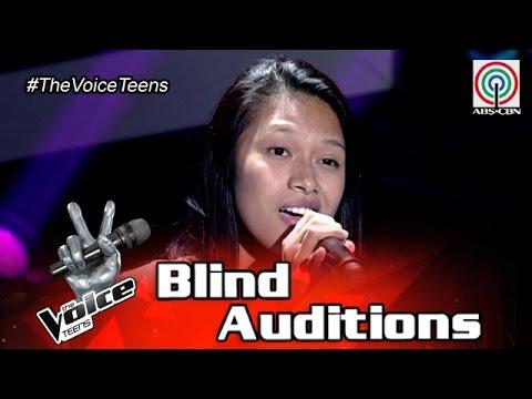 The Voice Teens Philippines Blind Audition: Erika Tenorio - I Don't Wanna Talk About It