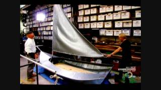 Sail Boat made of Duct Tape (Great Video)