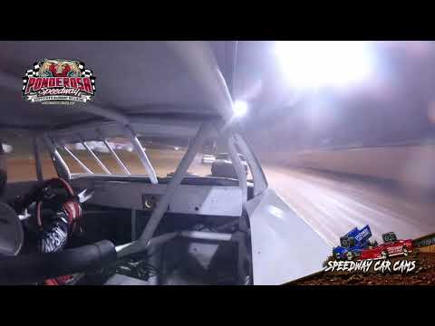 #Usa1 Jack Cornett - Hobby Stock - 8-2-19 Ponderosa Speedway - In-Car Cameras