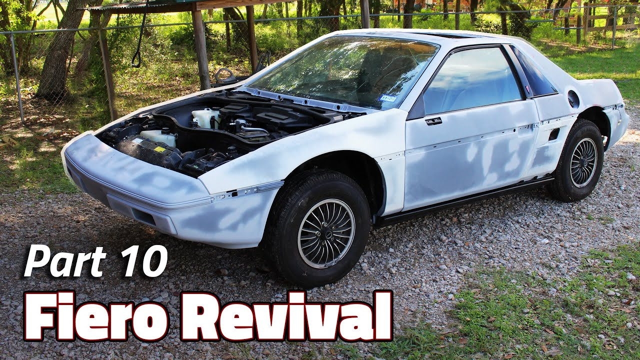 Primer? I Hardly Know Her!   1985 Fiero 2M4 Revival - Part 10