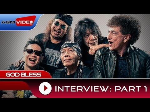 Interview part 1 God Bless : Cermin 7