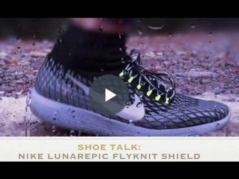 Shoe Talk  Nike LunarEpic Flyknit Shield final - YouTube 03f6750bd