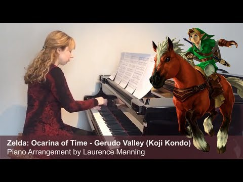 Gerudo Valley - Zelda: Ocarina of Time (Piano Cover)