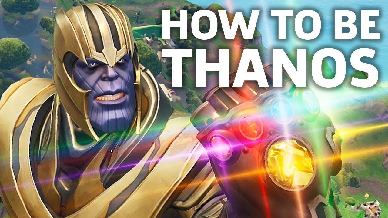 Thanos Fortnite Character Baaz