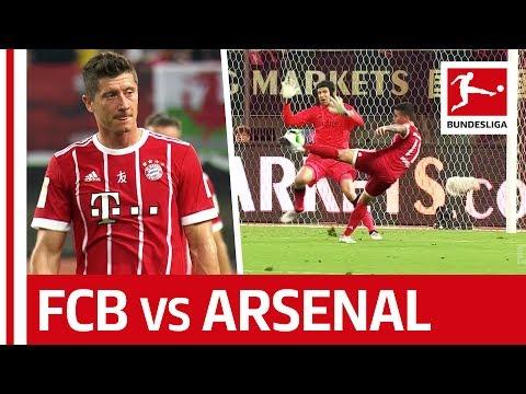 FC Bayern München vs. FC Arsenal - Highlights - James, Lewandowski & Co. in Shanghai