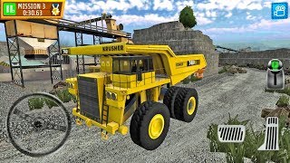 Quarry Driver 3 Giant Trucks Ep1 - Truck Games Android gameplay