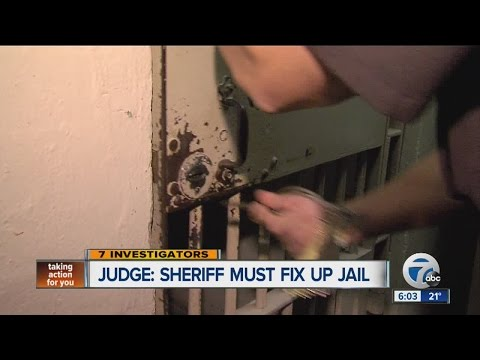 Judge orders Wayne Co. Sheriff to fix up jail, improve medical care for inmates