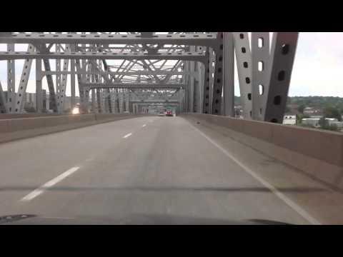Drive through Peoria Illinois May 26 2013