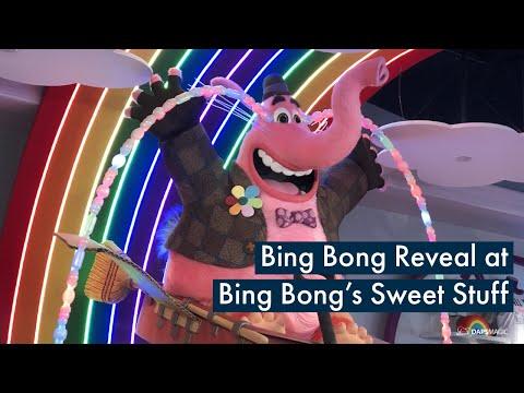 Grand Reveal of Bing Bong at Disney California Adventure Park