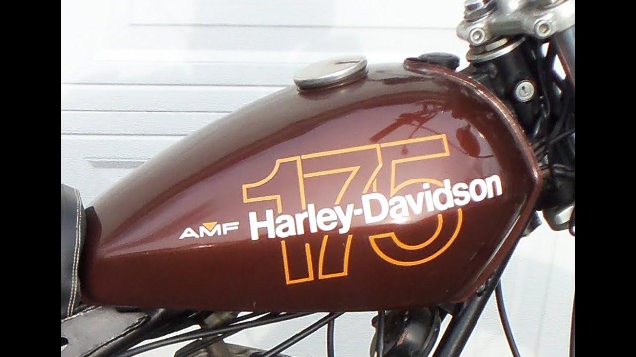 1978 Aermacchi Harley Davidson Ss175 Original Paint