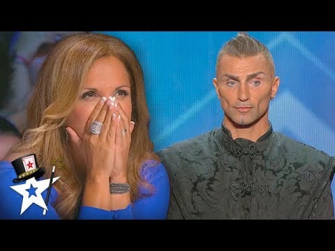 DEATH-DEFYING Magician Nearly Takes Judge's Head Off! | Magicians Got Talent