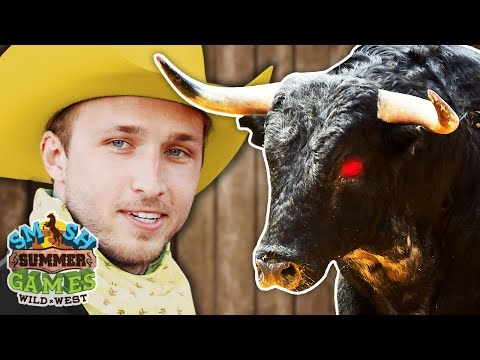 SUMMER GAMES TEAM PICKING / BULL RIDING (Smosh Summer Games)