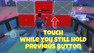 FORTNITE MOBILE EDITING BUILDING BUG/GLITCH/ISSUE FIX IOS ANDROID