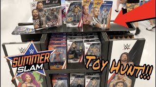 WWE Toy Hunt - Finding Summer Slam Section!!!!!