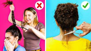 INCREDIBLE HAIR HACKS || Girly, beauty hacks