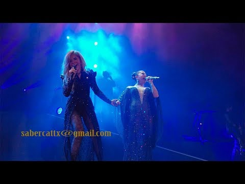 Yo Te Esperaba Gloria Trevi Versus ALEJANDRA GUZMAN Tour 2017 4K Video HD Audio
