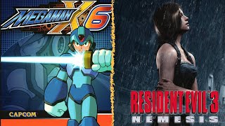 MegaManX6 - completo + Resident Evil 3 - Speedrun Any% - Dificultad Hardcore   En Español