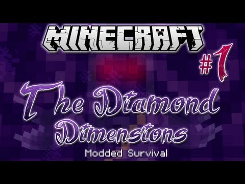The Diamond Dimensions Modded Survival